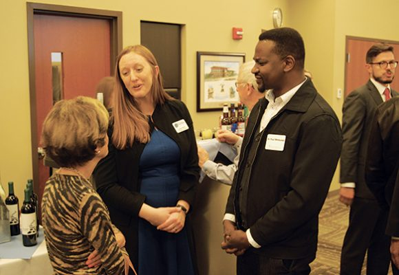 Looking Back: Receptions Held for Dwyer Fellows